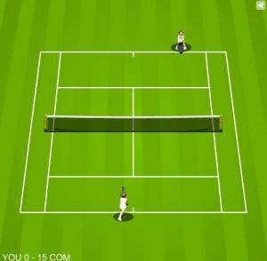 gry sportowe tenis